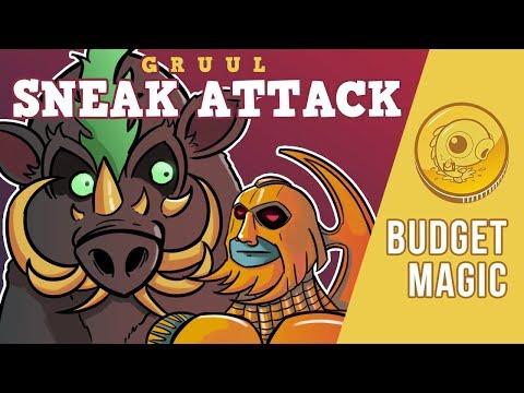 Budget Magic: $92 (37 tix) Gruul Sneak Attack (Standard, Magic Arena)