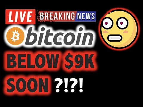 BITCOIN Gap Fill Target $8.5K?! VERY SOON?!❗️LIVE Crypto Analysis TA & BTC Cryptocurrency Price News