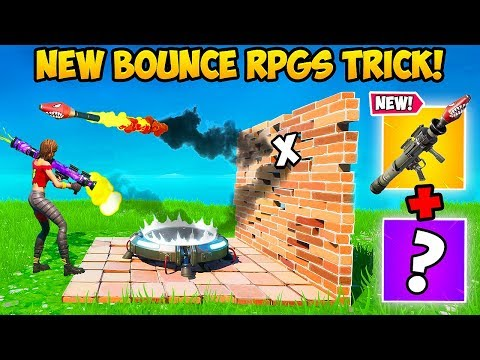 """""""NEW"""" BOUNCING RPG TRICK IS CRAZY!! – Fortnite Funny Fails and WTF Moments! #834"""