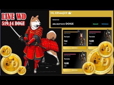 GOLDENDOGE TERBUKTI LEGIT II MINING DOGECOIN II UPDATE 24 FEB 2020