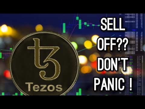 Tezos Sell Off | Why I Don't Panic