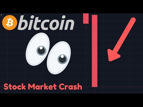 OMG!! BITCOIN & STOCKS CRASHING! Is BTC Failing As A Safe Haven?