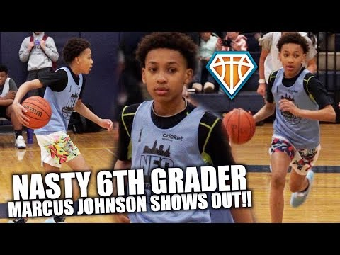 NASTY 6th Grader Marcus Johnson SHOWED OUT at NEO Youth Elite!! | Young PG w/ UNLIMITED RANGE