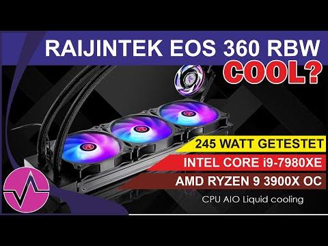 Raijintek EOS 360 AiO Kompakt-Wasserkühlung – Schnäppchen-Alarm oder Reinfall? AMD und Intel im Test