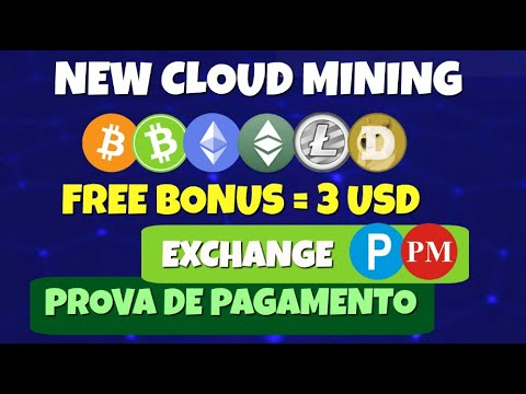 Nova Mineradora de Bitcoin | Logus Cloud Mining | ETH BCH LTC ETC DOGE | + Prova de Pagamento
