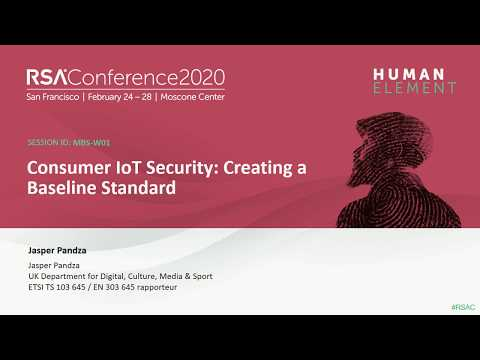 Consumer IoT Security: Creating a Baseline Standard