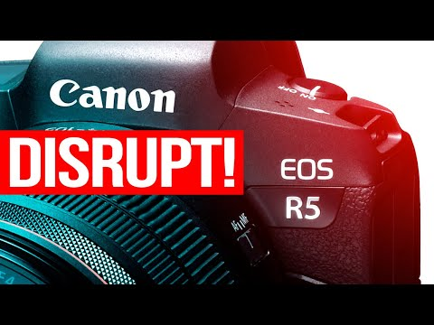 Canon EOS R5 Confirmed – Disruptive Mirrorless for 2020
