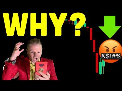WHY IS BITCOIN TANKING – THE TRUTH (btc crypto live news price prediction analysis today ta 2020