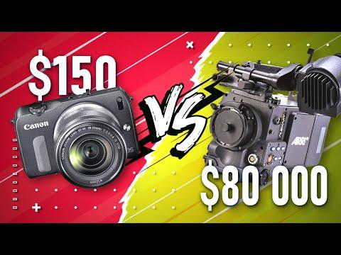 ДЕШЕВАЯ камера против ДОРОГОЙ камеры | Canon EOS M | ARRI ALEXA XT