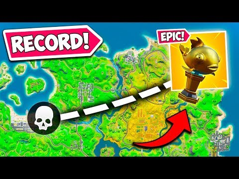 *WORLD RECORD* LONGEST MYTHIC FISH KILL!! – Fortnite Funny Fails and WTF Moments! #837