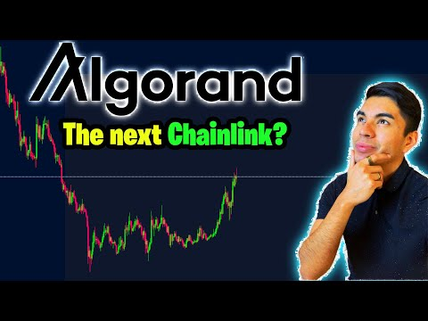 Algorand up 70%!!! Algo, Chainlink, Tezos, ETH Technical Analysis