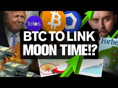 BITCOIN Begins its BOUNCE! Chainlink Secrets Revealed!?