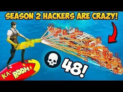 *HACKERS* IN SEASON 2 ARE INSANE!! – Fortnite Funny Fails and WTF Moments! #838