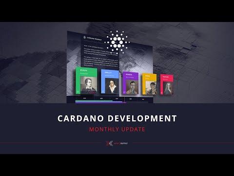 Cardano Development Monthly Update (February)