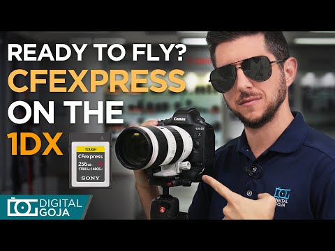 How Fast are CFexpress Cards? | Canon EOS 1DX Mark iii