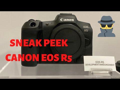 SNEAK PEEK – Canon EOS R5 is REAL!!