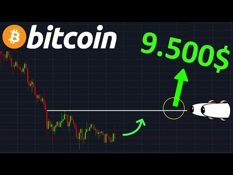 BITCOIN 9.500$ GROSSE HAUSSE POSSIBLE !? btc analyse technique crypto monnaie