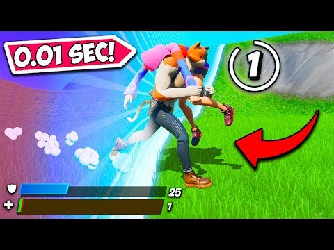 *0.1 SECONDS* LUCKIEST STORM ESCAPE EVER!! – Fortnite Funny Fails and WTF Moments! #839
