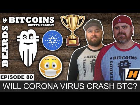 Will the Corona Virus Crash Bitcoin | Cardano Hard Fork (2020 ADA)