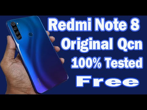 Redmi Note 8 Tested Qcn || Baseband Fix || No Service Fix || Radio Fix By Ab Malek