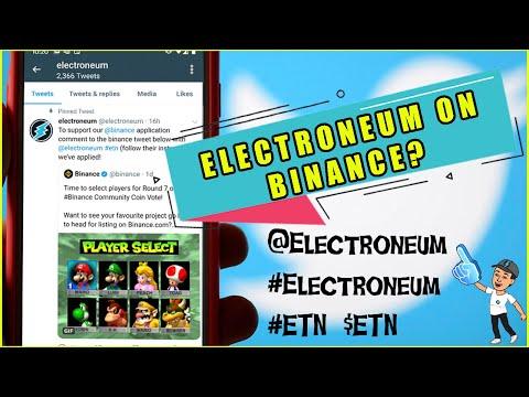 Electroneum MASSIVE 140 countries move..BIG news..Binance next?