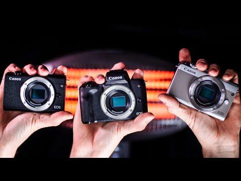Für jeden was dabei! [Canon EOS M200 vs M50 vs M100: Kameravergleich für Foto und Video]