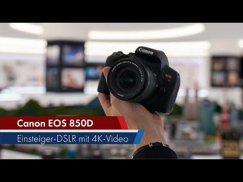 Canon EOS 850D | Gehobene Einsteiger-DSLR mit 4K-Video [Deutsch]