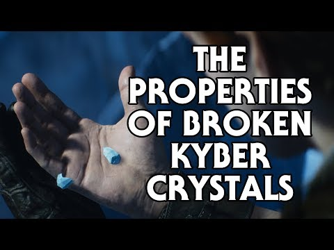 The Properties of Broken or Damaged Kyber Crystals
