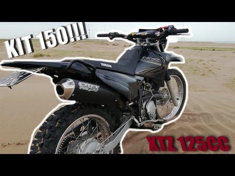 COMO COLOCAR KIT150CC !!!!!! Yamaha XTZ 125