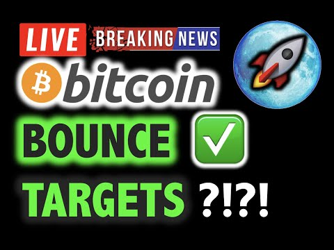 BITCOIN How High Will It BOUNCE? Over $10K?❗️LIVE Crypto Analysis TA & BTC Cryptocurrency Price News