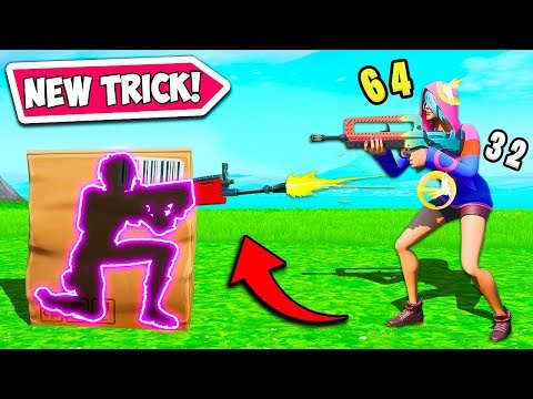 *NEW TRICK* SHOOT WHILE HIDING!! – Fortnite Funny Fails and WTF Moments! #840