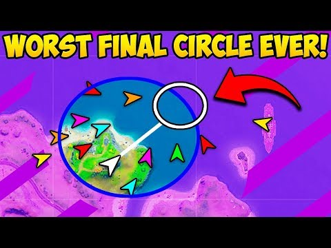 *WORST EVER* FINAL STORM CIRCLE!! – Fortnite Funny Fails and WTF Moments! #841