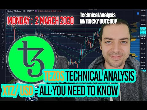 Tezos (XTZ) – Support found? Upside in store? Risk levels identified. March 2nd T.A with Rocky.