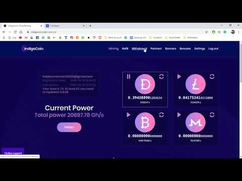 Litecoin (LTC) Live Withdraw Proof in Cloud mining website || 2020