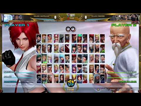 WhiteAshX vs Frezzer – KOF XIV Neo Geo World Tour Season 1 Global Finals Winners Round 2