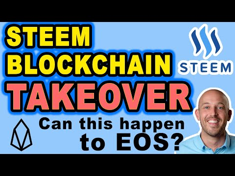 🔵 Steem Blockchain Takeover by Exchanges & Justin Sun of Tron! DPOS fail. Can this happen to EOS?