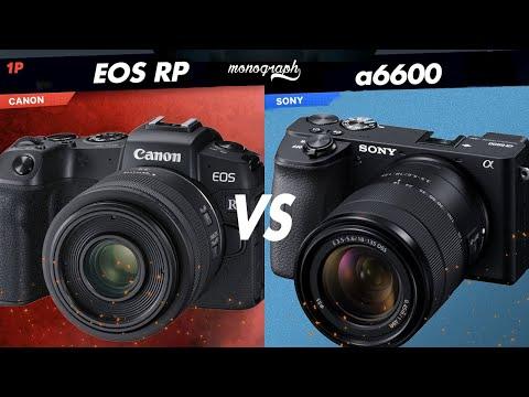 2020年VLOG用ベストカメラを決める。Canon EOS RPとSONY α6600を個人的に比較してみました。