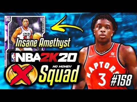 NO MONEY SPENT SQUAD!! #158 | Amethyst OG Anunoby Is INCREDIBLE In NBA 2K20 MyTEAM