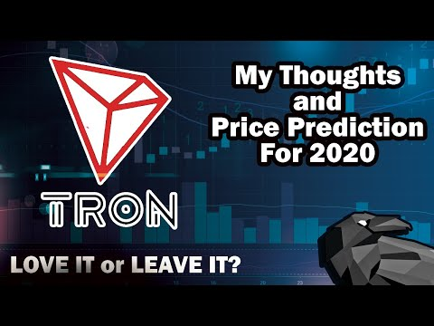 TRON TRX Price Prediction 2020 and 2021
