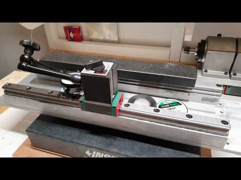 Alignment attempt (linear rails 6040 upgrade) (Linear rail upgrade part 6)