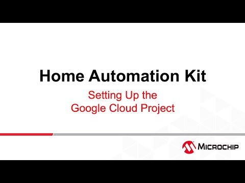 AVR® -IoT Home Automation – Weather Clock #2 – Setting up the Google Cloud Project