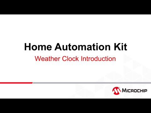 AVR® -IoT Home Automation – Weather Clock #1- Introduction