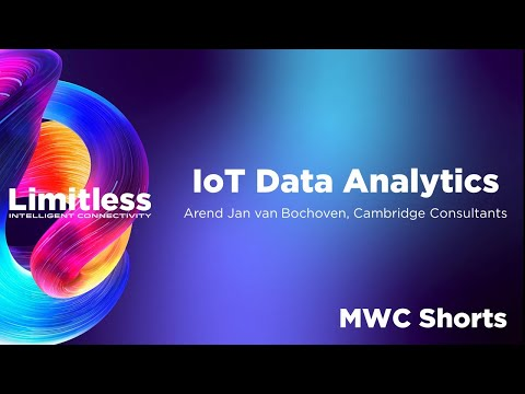 IoT Data Analytics ft. Cambridge Consultants