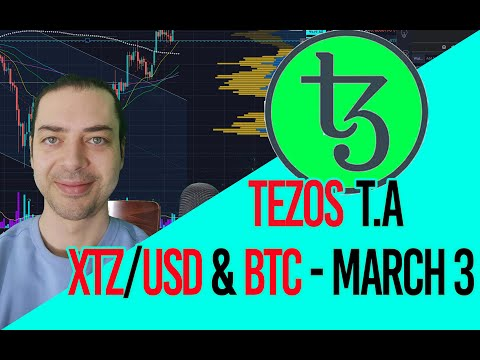 Tezos (XTZ) – Is it ready to become the boss?! Tezos heading north!?. March 3rd T.A with Rocky.