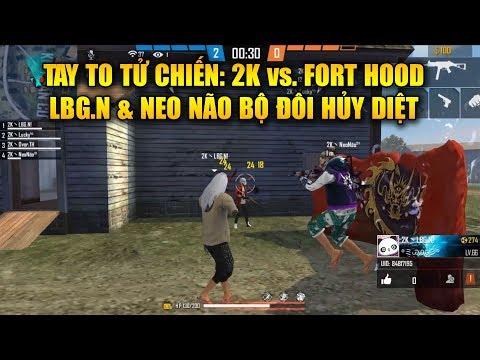 Free Fire | Tay To Tử Chiến: LBG.N Và Neo Não Bá Đạo Giúp 2K Nghiền Nát Fort Hood | Rikaki Gaming