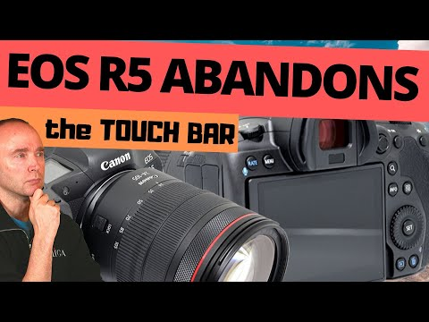 Canon abandons touch bar on EOS R5 photos – You need to watch this now
