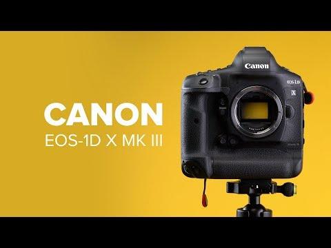 Canon EOS 1D X Mark III im Test: die Profi-DSLR-Kamera | deutsch