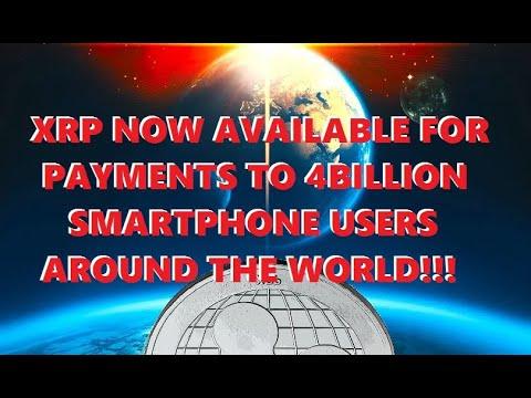 AMAZING!!! XRP Payments to 4 BILLION Smartphone Users Around the World! BTC Indicator Flashing GREEN
