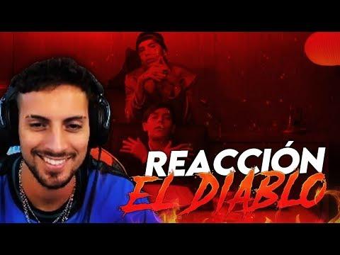 REACCIÓN A Lucho SSJ – El Diablo ft. Neo Pistea