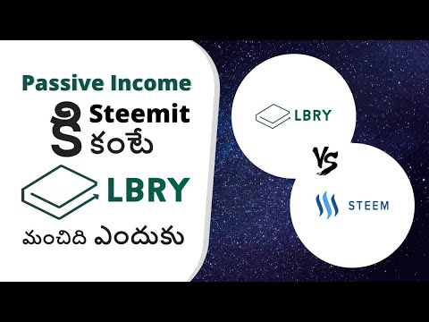 Why LBRY Is Better Than Steemit To Earn Passive Income?